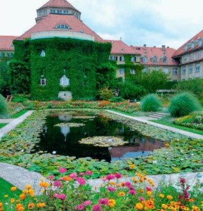 Ботанический сад Мюнхен-Нимфенбург